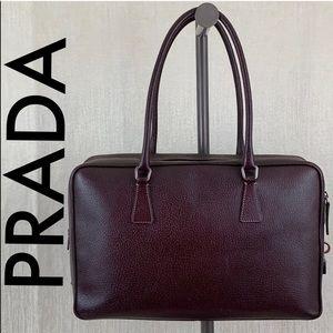 🎁 PRADA SAFFIANO LEATHER SHOULDER BAG / BRIEFCASE